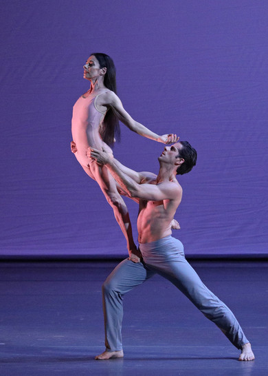 Alessandra Ferri, Marcelo Gomes. Duet from After the Rain.<BR>© Bolshoi Theatre