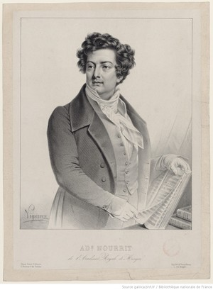 Nourrit Adolphe (Author libretto)<BR>